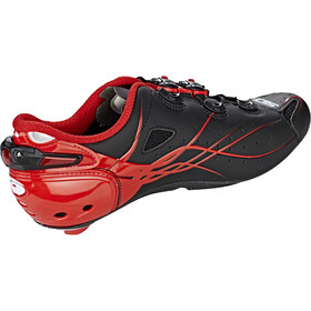 Sidi Shot Shoes Herren matt black/red